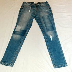 Sonoma Distressed Skinny Jeans Medium Wash Size 4P